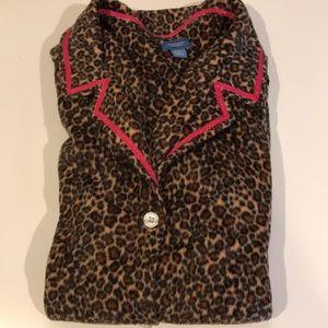 Simply Vera Leopard Pint Pajama Set XXL